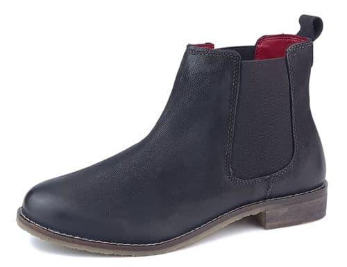 Frank James - Aintree 3167 Black Nubuk Leather Chelsea Boots